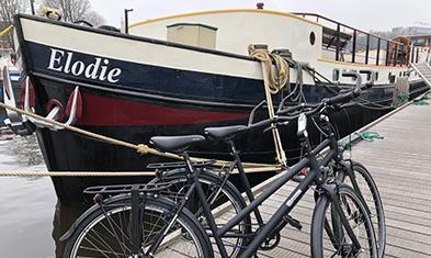 Op fiets-vaarvakantie met een Jongerius Handmade Bicycle