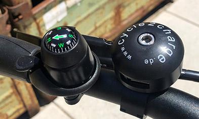 Cycle2Charge: USB lader voor op de fiets