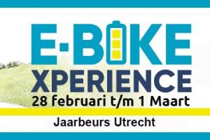 Test onze e-bikes op de E-Bike Xperience 2020
