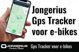 Nieuw: de Jongerius GPS Tracker voor e-bikes